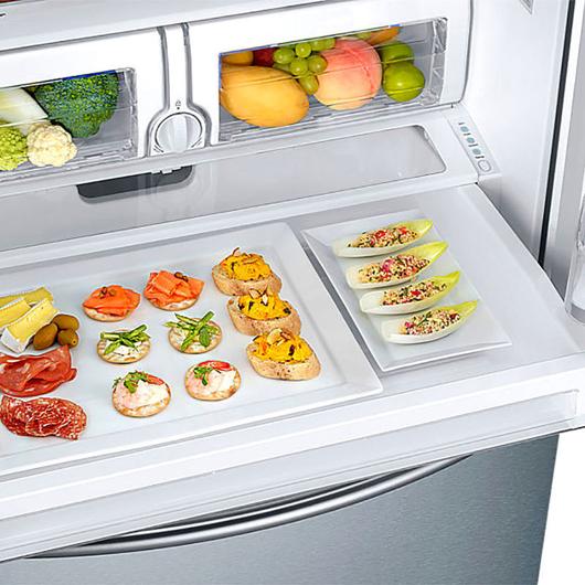Réfrigérateur à double porte 25.5 pi.cu. Samsung
