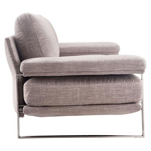 Sofa tissu design contemporain Zuo moderne