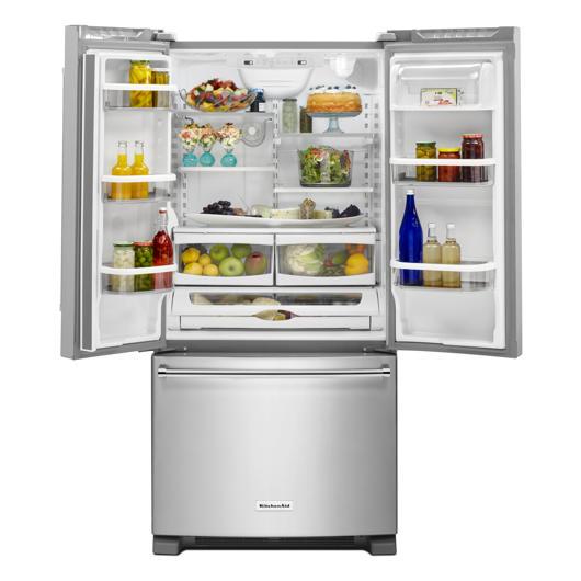 Réfrigérateur à double porte 22.1 pi.cu. KitchenAid