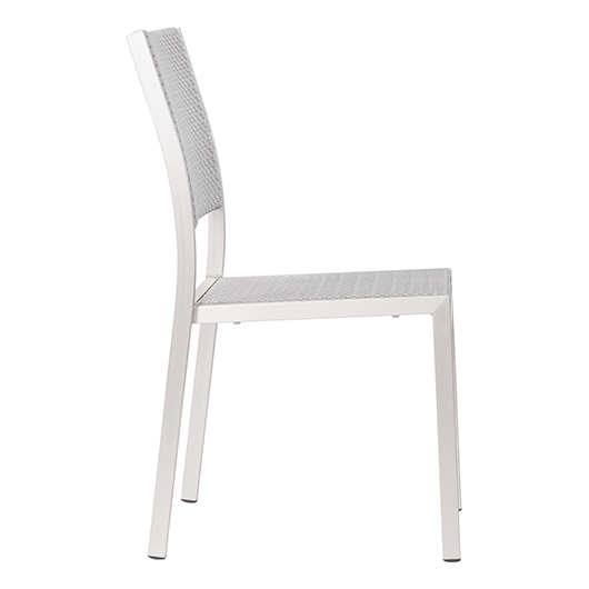 Chaise empilable Metropolitan Zuo moderne