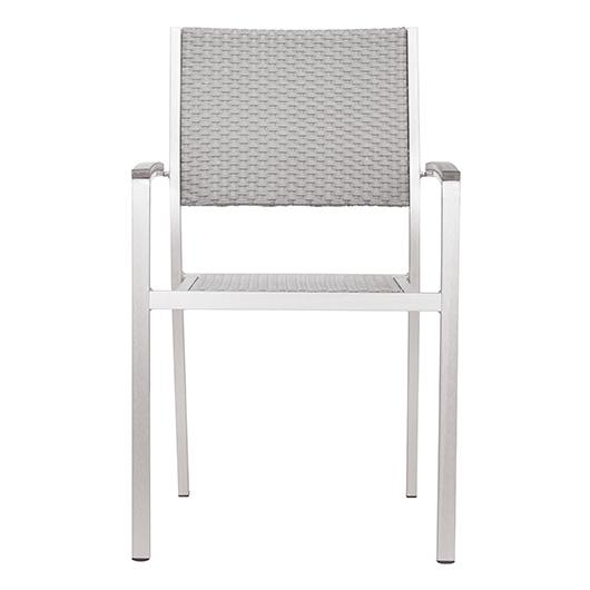 Chaise avec bras Metropolitan Zuo moderne