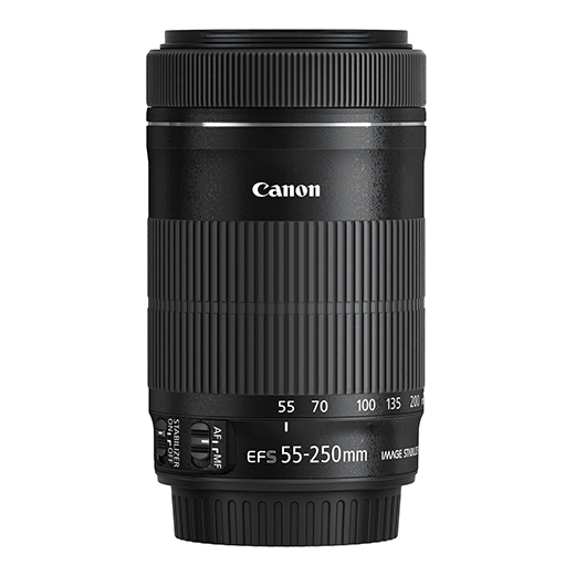 Objectif EF-S 55-250mm f4-5.6 IS Canon