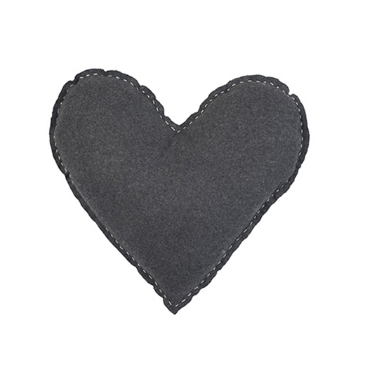 Coussin 12X13 po charcoal