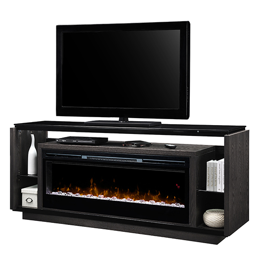 meuble t l 70 po avec foyer int gr tanguay. Black Bedroom Furniture Sets. Home Design Ideas