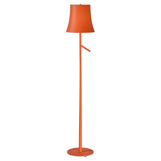 Lampe de plancher orange