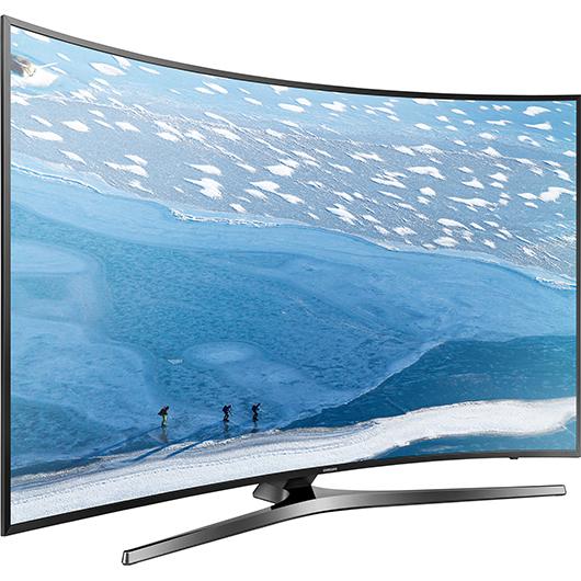 t l viseur incurv del 4k ultra hd smart tv 55 po tanguay. Black Bedroom Furniture Sets. Home Design Ideas