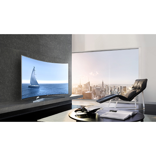 t l viseur incurv del 4k suhd smart tv 55 po tanguay. Black Bedroom Furniture Sets. Home Design Ideas