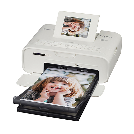 Imprimante photo compact blanc Canon