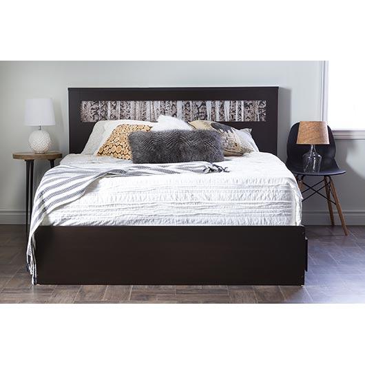 Tête de lit doublequeen  Tanguay