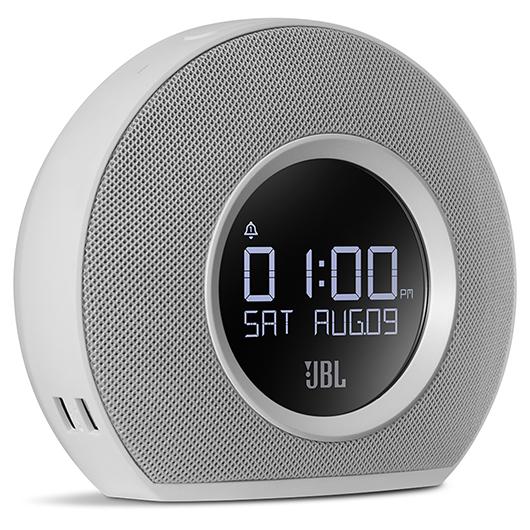 Radio réveil Bluetooth avec 2 ports USB et lumière ambiante JBL