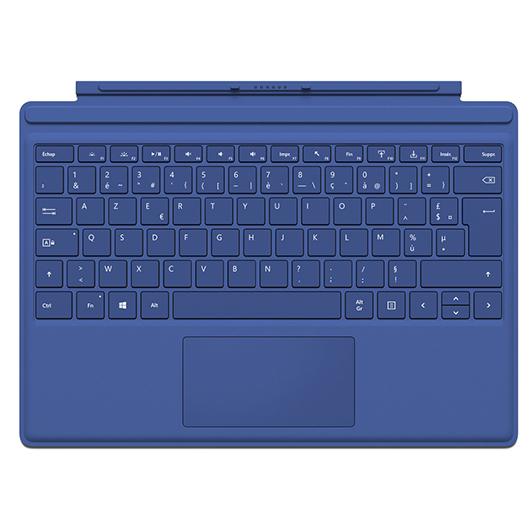 Clavier-couvert pour tablette Surface 4 Pro Microsoft