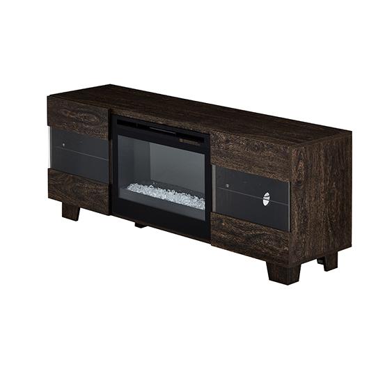 meuble t l 50 po avec foyer int gr tanguay. Black Bedroom Furniture Sets. Home Design Ideas