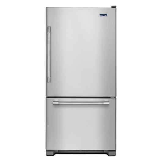 Réfrigérateur 18.7 pi.cu. congélateur en bas Maytag