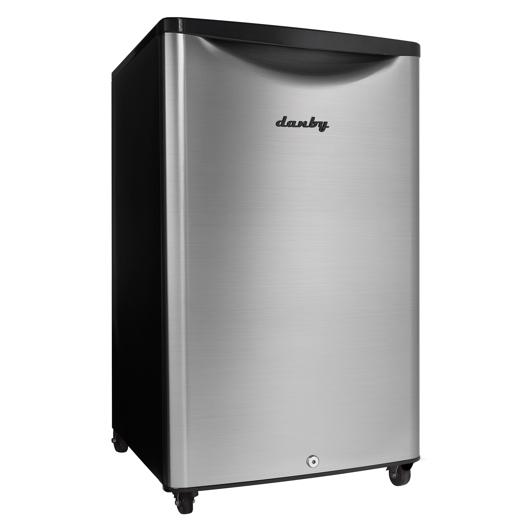 Tout réfrigérateur 4.4 pi.cu. d'extérieur sur roues Danby
