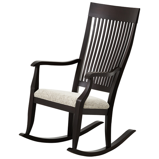 Chaise ber ante en bois tanguay for Meuble chaise bercante