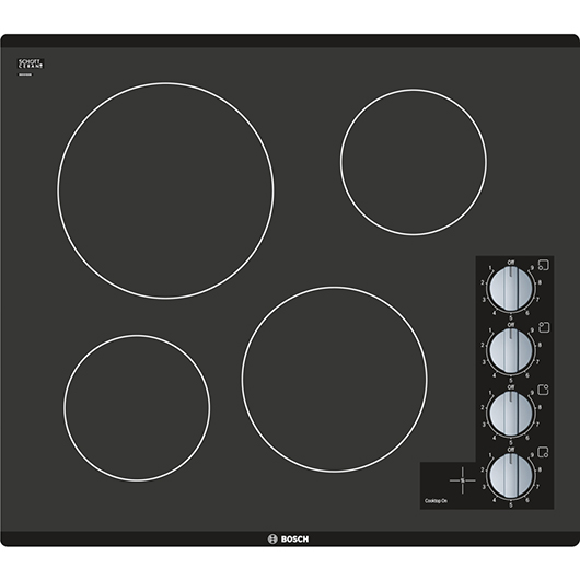 Plaque de cuisson 24 po Bosch