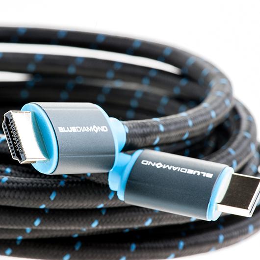 Câble HDMI 4K Ethernet BlueDiamond 15pi Tomauri