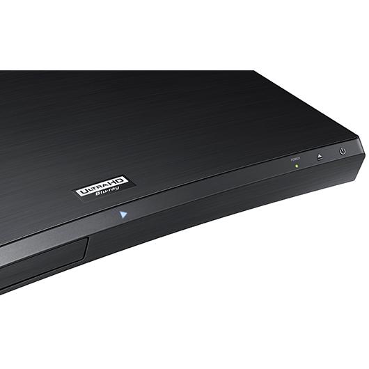 Lecteur courbé Blu-Ray Ultra HD 4K conversion 4K Wi-Fi USB 7.1 canaux Samsung