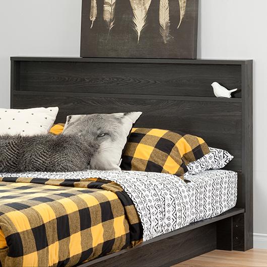 Tête de lit double/grand lit South Shore