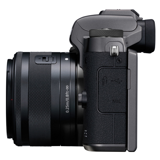 Caméra EOS M5 15-45mm 24,2MP vidéo 1080p Wi-Fi Bluetooth Canon