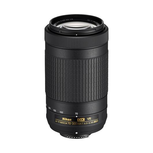 Objectif AF-P DX Nikkor 70-300mm F/4,5-6,3G ED VR Nikon