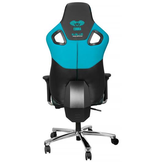 Chaise Cobra bleue et noire pour gamer Tomauri