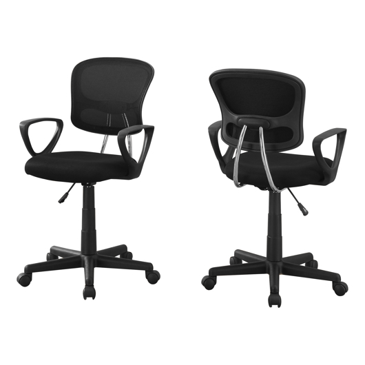 chaise de bureau avec bras amovible