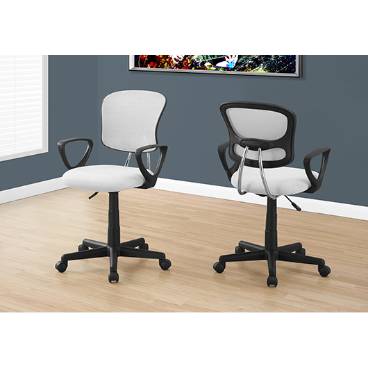 Chaise de bureau avec bras Monarch Specialities