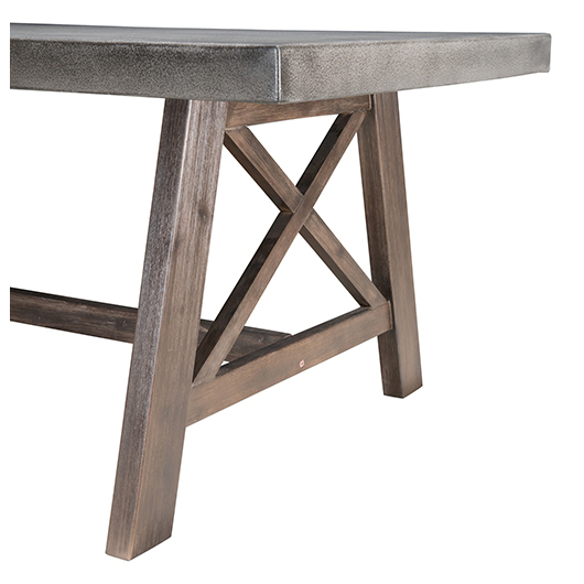 Table de patio Ford Zuo moderne