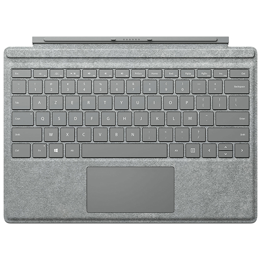 Clavier-couvert pour tablette Surface Pro 5 Microsoft