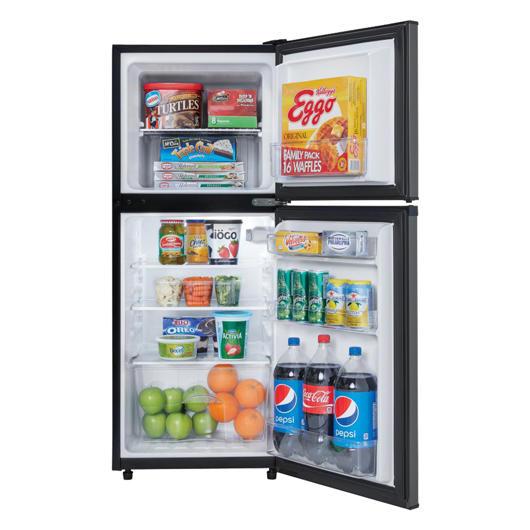 Réfrigérateur compact de 4,7 pi.cu. congélateur en haut Danby