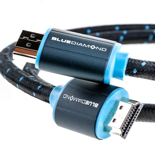 Câble HDMI 4K Ethernet BlueDiamond 3pi Tomauri