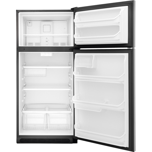 Réfrigérateur 18 pi.cu. congélateur en haut Frigidaire