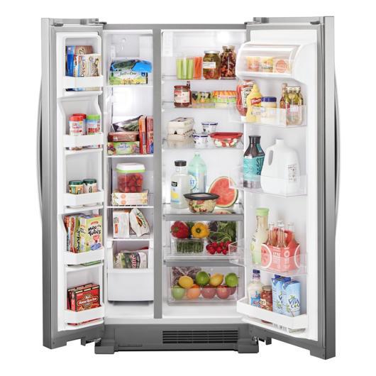 Réfrigérateur côte à côte 21.7 pi.cu. Whirlpool