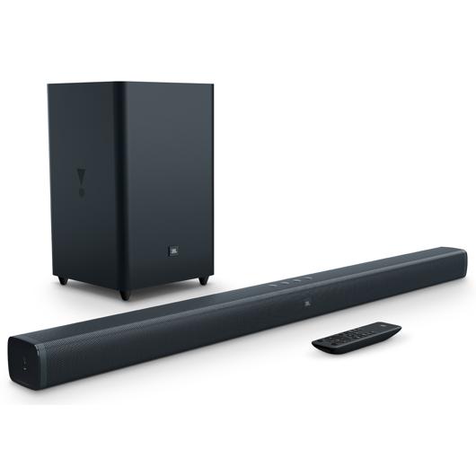 Système de barre sonore 300 avec caisson d'extrêmes graves sans fil JBL