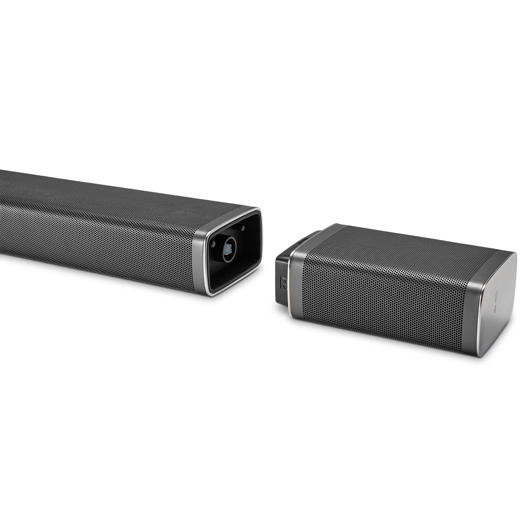 Système de barre sonore 510 avec caisson d'extrêmes graves sans fil JBL
