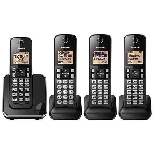 Téléphones sans fil Dect6 avec afficheur Panasonic