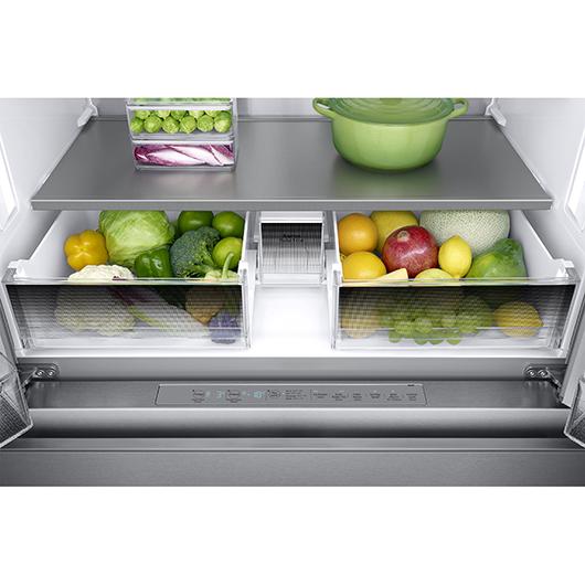 Réfrigérateur à double porte 22.6 Samsung