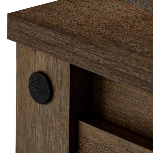 Table de nuit 2 tiroirs Meubles Concordia