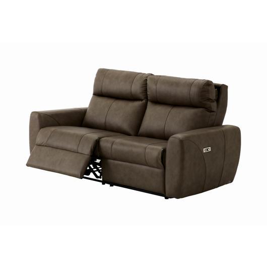 Sofa inclinable en cuir motorisé Elran