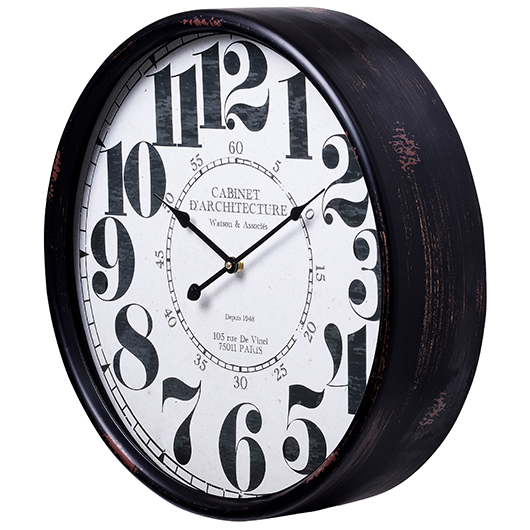 Horloge 20 po Diametre