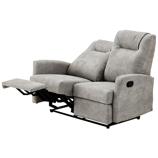 Causeuse inclinable en tissu Relaxon