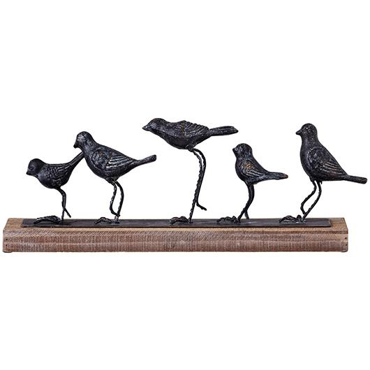 Sculpture Oiseaux 18x4x7 po