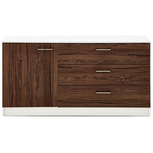 Bureau 1 porte, 3 tiroirs EK Design