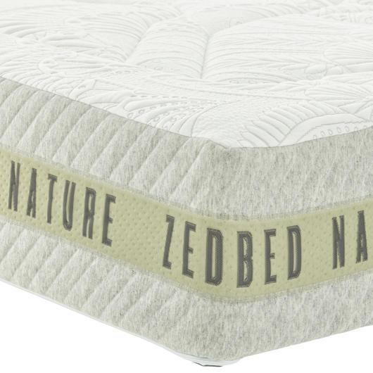 Matelas en mousse mémoire et latex Très grand lit Zedbed