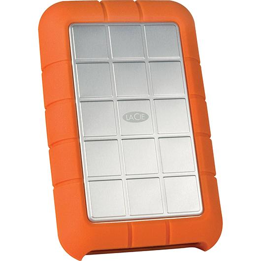Disque dur externe portatif rugged triple usb 3 de 1 TB LaCie