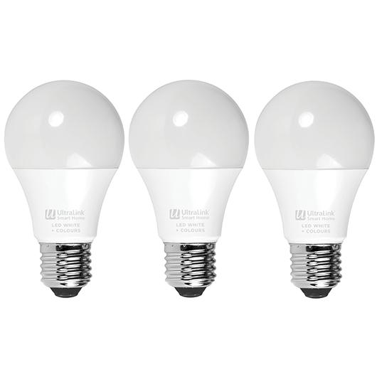 Ensemble de trois ampoules intelligentes à DEL UltraLink