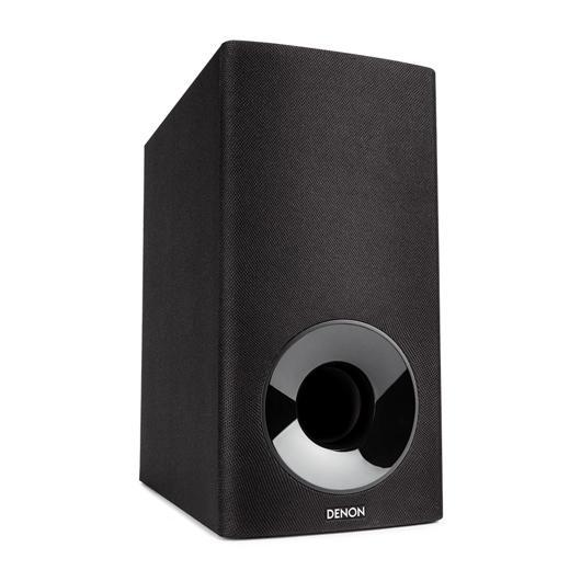Système de barre sonore avec caisson d'extrêmes graves sans fil Denon
