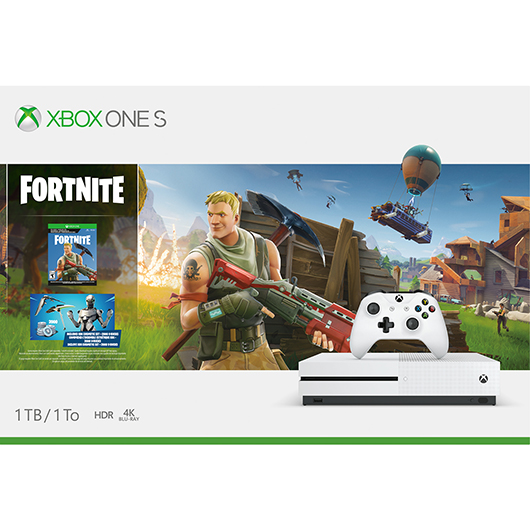 CONSOLE 1TB/MAN./JEU FORTNITE Solutions 2Go