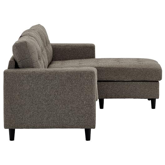 Sofa tissu contemporain Monarch Specialities